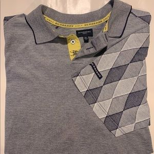 💲SALE Burberry men's 🏌️‍♂️ golf shirt Worn once!